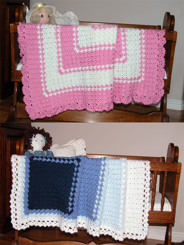Baby Diamonds Afghan Photo