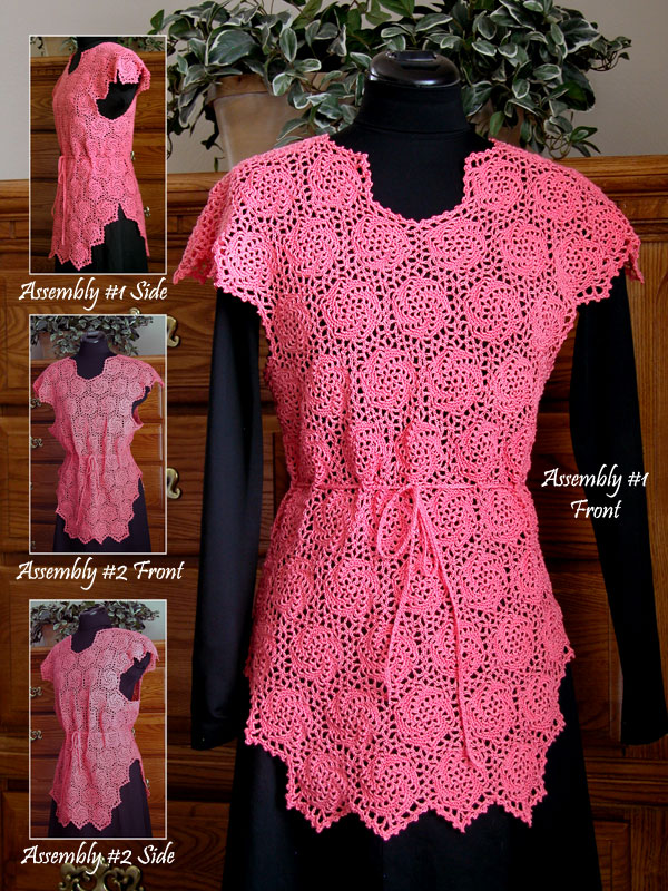 Coral Swirls Coverup Photo
