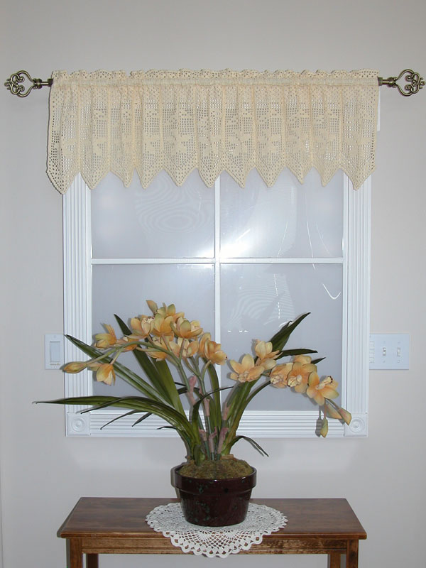 Bunches of Daisies Valance Photo