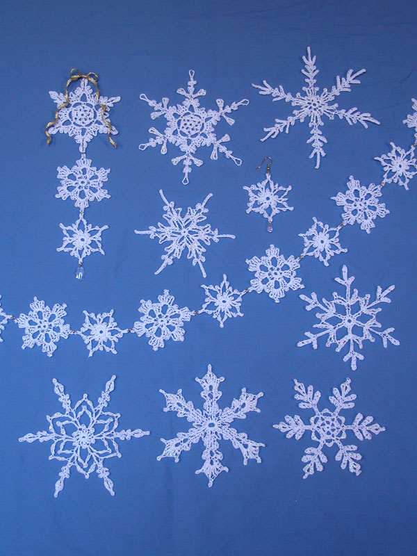 Fun and Fancy Snowflakes No. 2 Photo