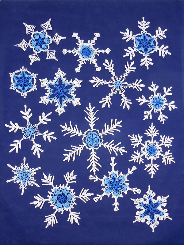 Fun and Fancy Snowflakes No. 6 Photo