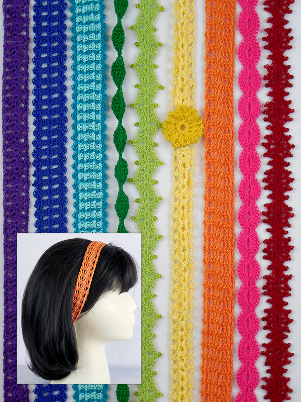 Rainbow of Headbands Photo