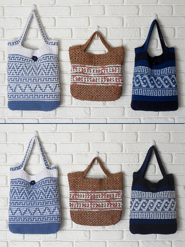 Reversible Tote Bags Photo