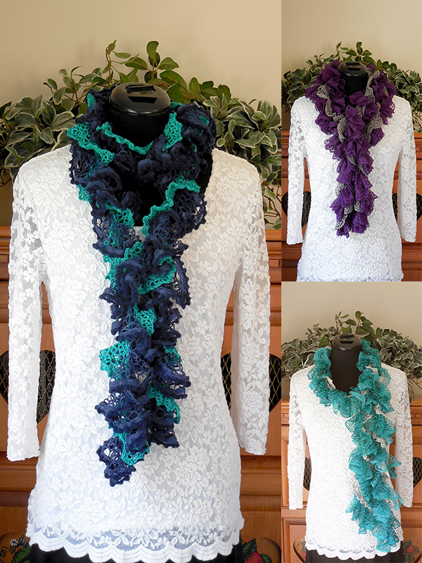 Ruffles & Lace Scarves