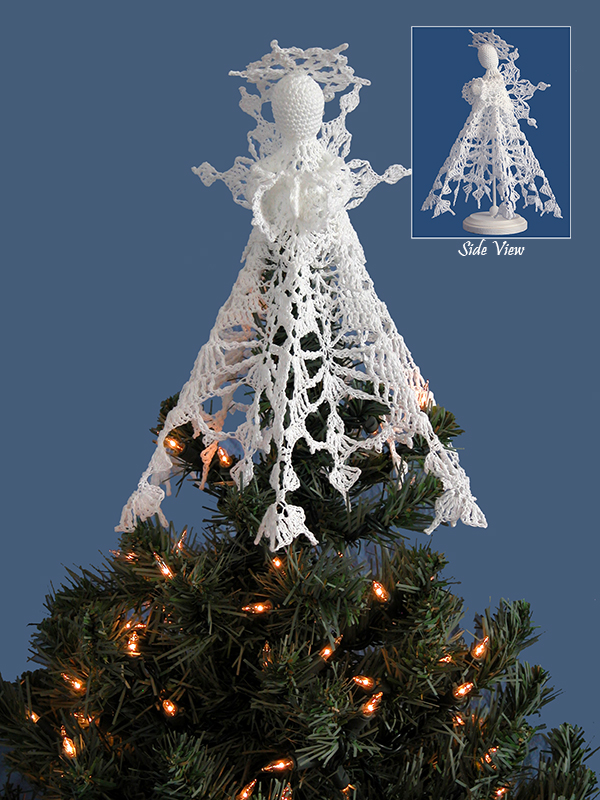 Snowflake Angel Tree Topper Photo