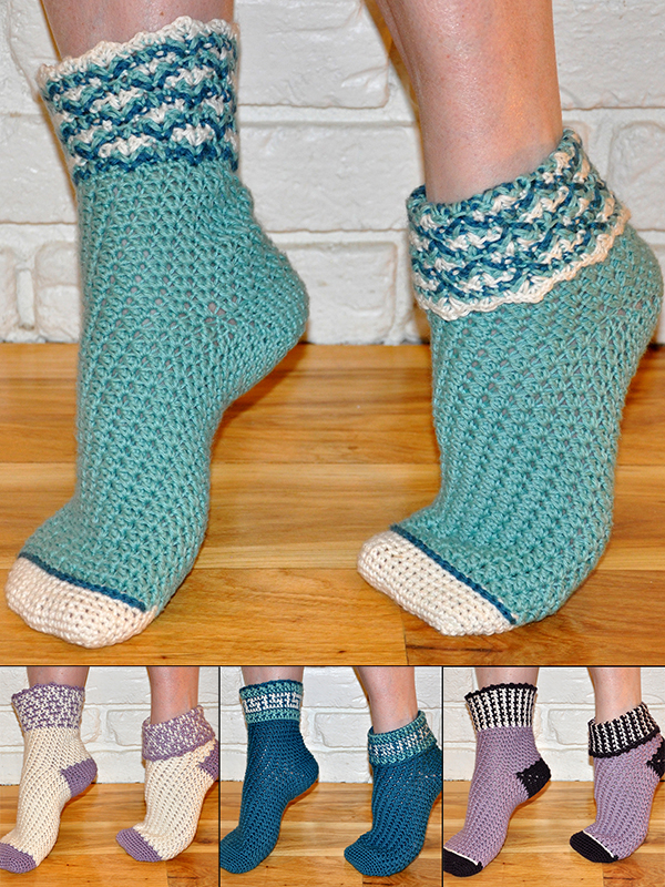 Soft-n-Comfy Reversible Socks